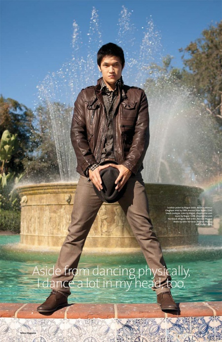 harry shum jr girlfriend. Even though Harry#39;s character