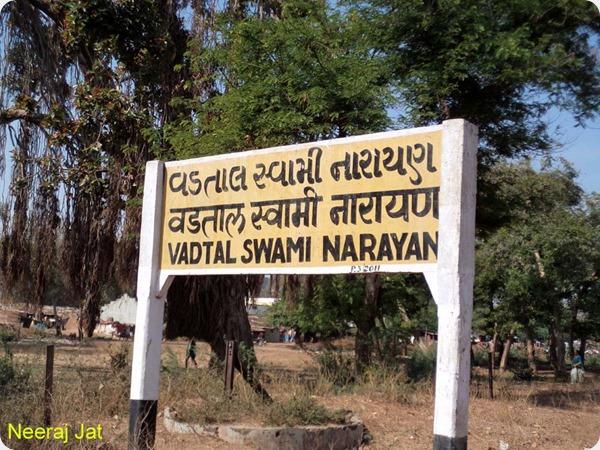 Vadtal Swaminarayan Railway