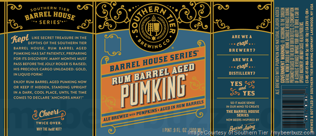 Southern Tier Run Barrel Pumking Returns In Barrel House Series