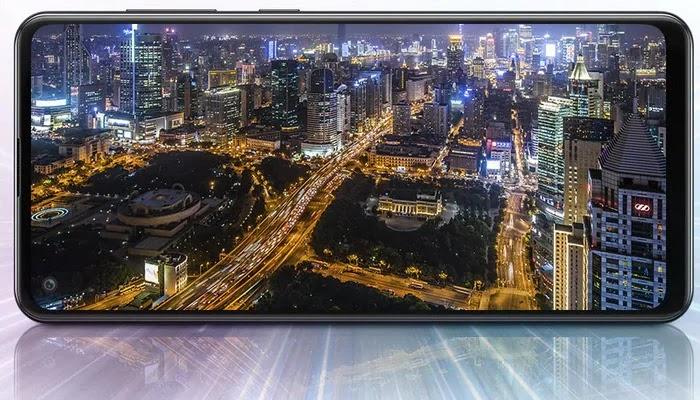 Samsung Galaxy A21s Layar