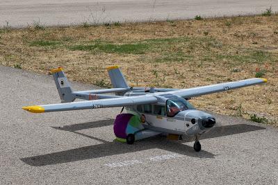 Cessna Skymaster de Ramón Martín