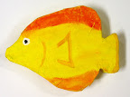 Yellow 3D Fish by Lydia