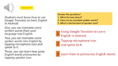 Contoh Procedure Text Bahasa Inggris SMK Penggunaan Teknologi
