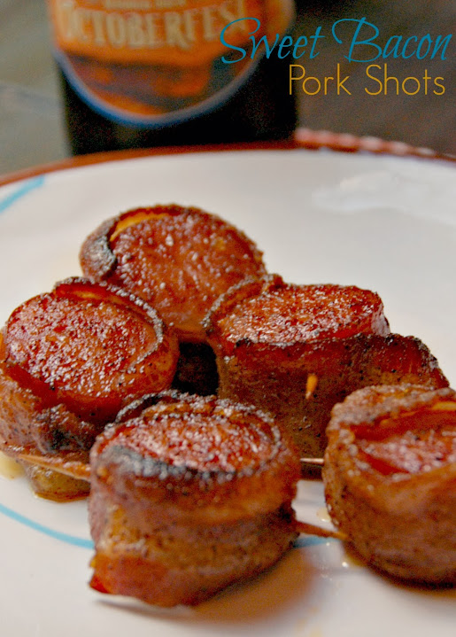 Sweet Bacon Pork Shots