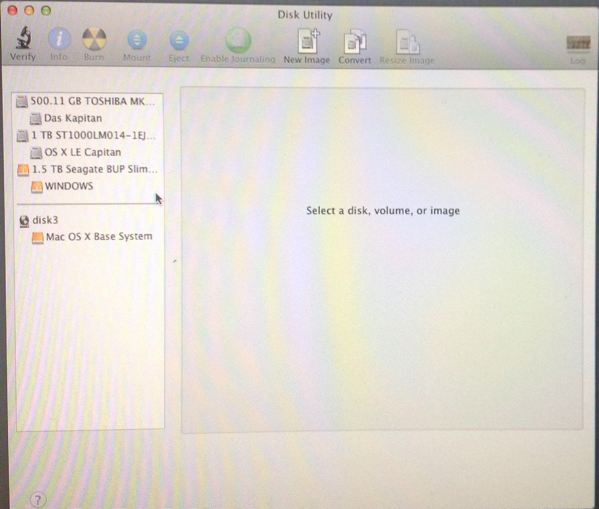 Disk Utility in Lion