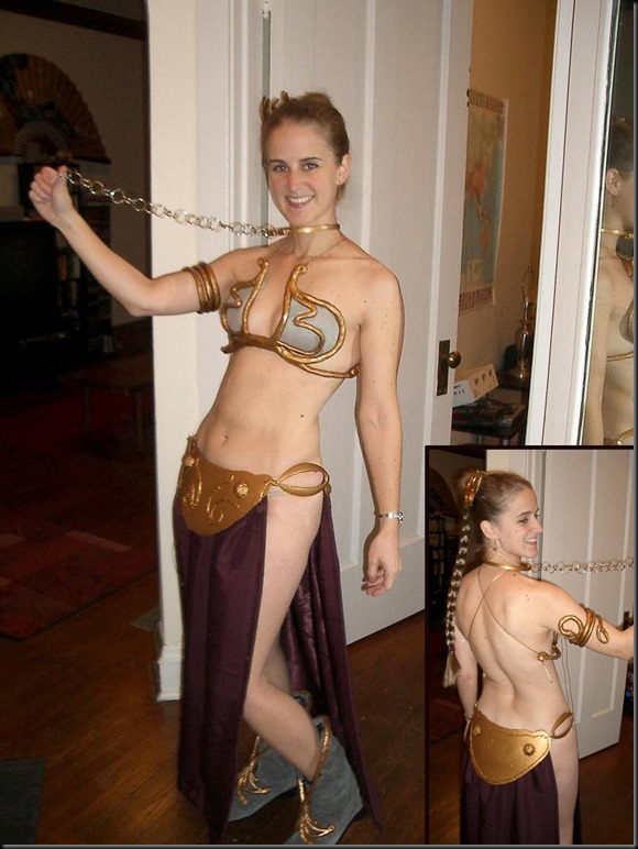 Princess Leia - Golden Bikini Cosplay_865825-0008