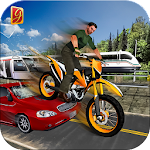 Tricky Bike Race Free: Top Motorbike Stunt Games Icon