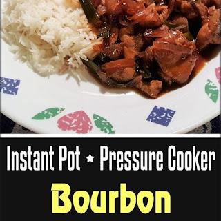Pressure Cooker Bourbon Chicken.