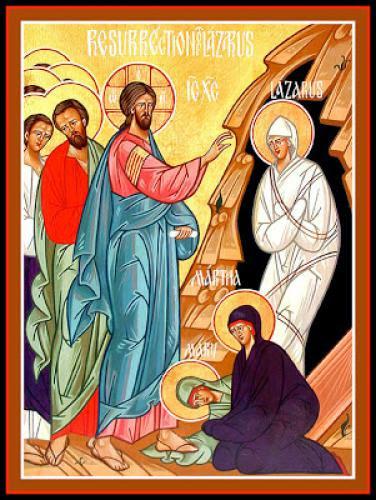 The Raising Of Lazarus Lazarus Saturday