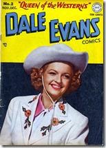 Dale Evans DC Comics cover