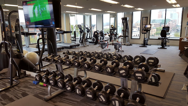 The Exercise room. Art and Luxury: Where to stay in Columbus, Ohio - Le Méridien Columbus, The Joseph