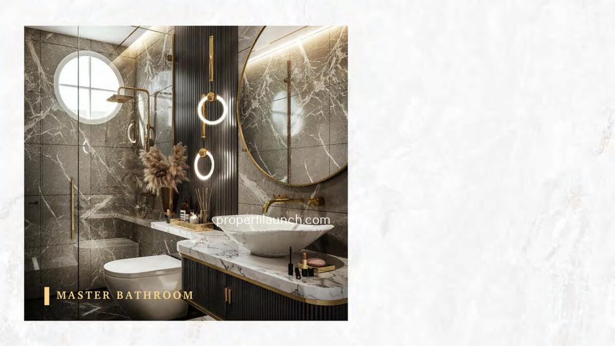 Master Bathroom Rumah Bukit Podomoro Jakarta Tipe 8