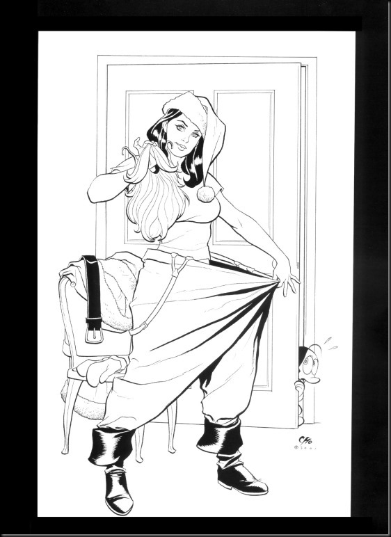 [Frank Cho] Women - Selected Drawings and Illustrations_854057-0062