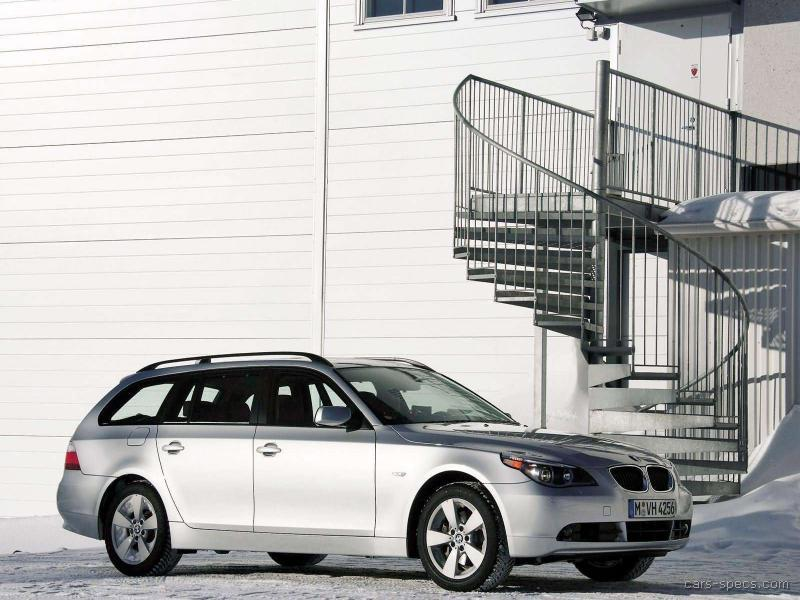 2007 bmw 5 series wagon specifications pictures prices. Black Bedroom Furniture Sets. Home Design Ideas