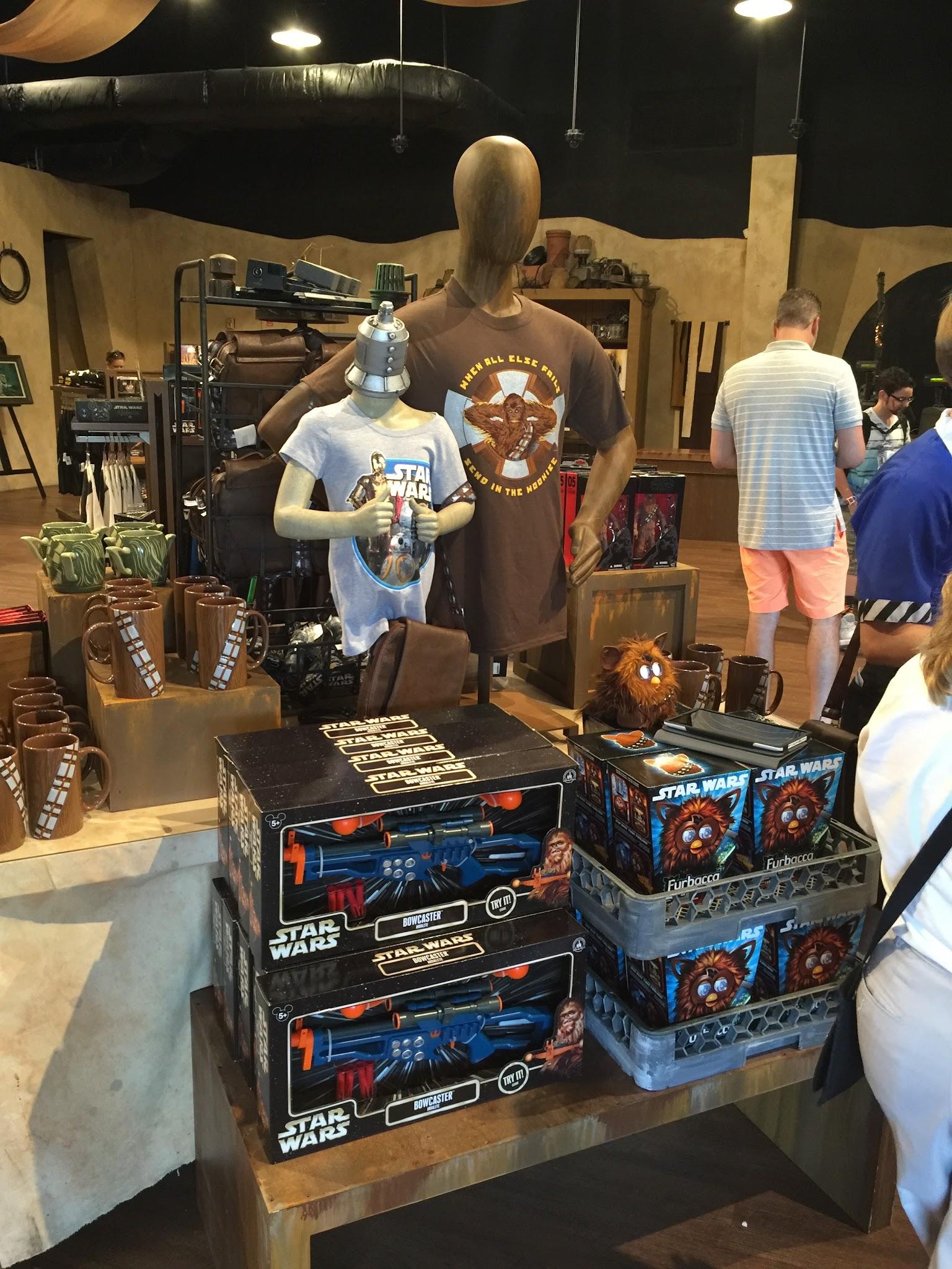 Photos new disney star wars merchandise at watto 39 s grotto for Merchandising star wars