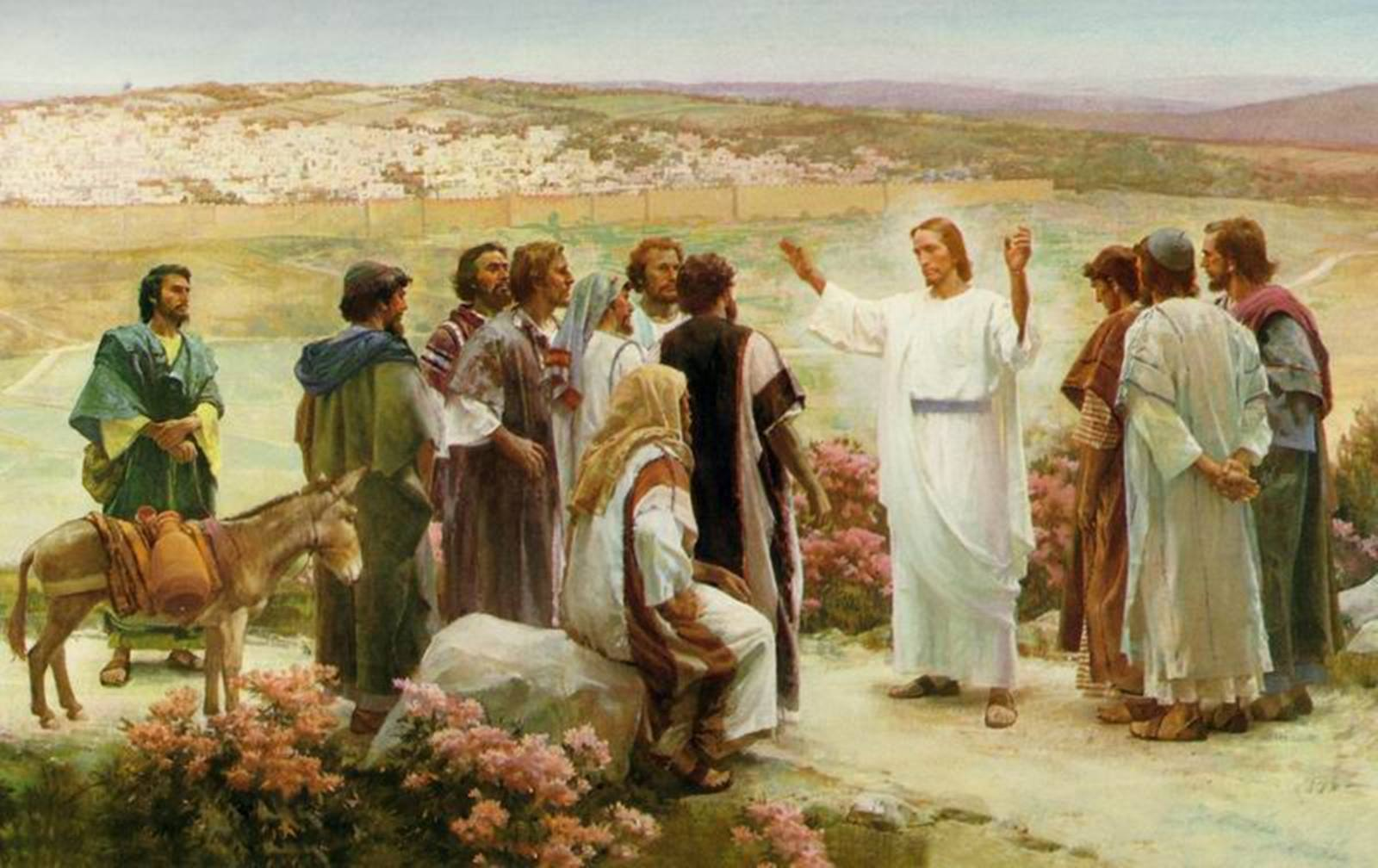Các con hãy đến cùng chiên lạc nhà Israel