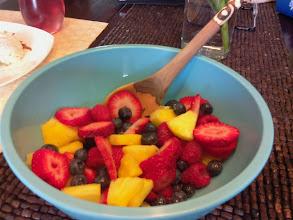Photo: breakfast fruit