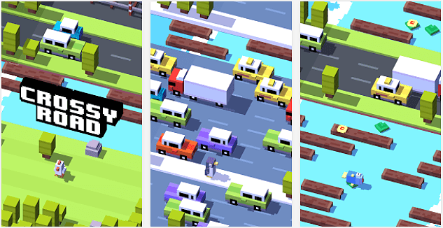 Crossy Road App voor Android, iPhone en iPad