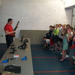 5de leerjaar bezoek aan het politiehuis van Aalst (05/2016)