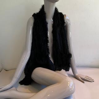 Diana Rosh Rabbit Fur Vest