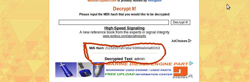Enkripsi dan Dekripsi MD5 Dengan Mudah