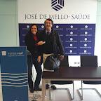 Dra. Tania Guerreiro e Filipe Basto (Medico Professor da Universidade do Porto - Portugal) Fev 2013