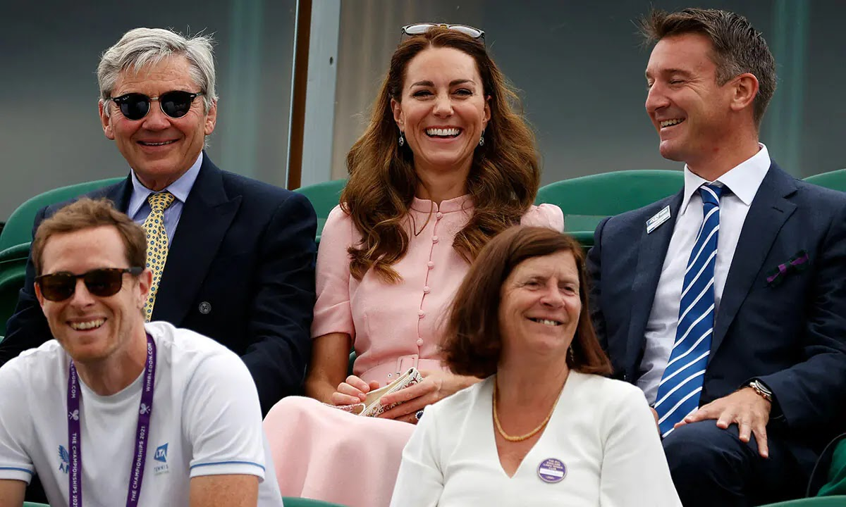 Kate Middleton's Fun Moment with Her Dad Michael You might have Missed at Wimbledon
