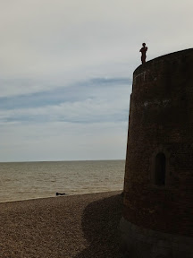 Martello Tower statue