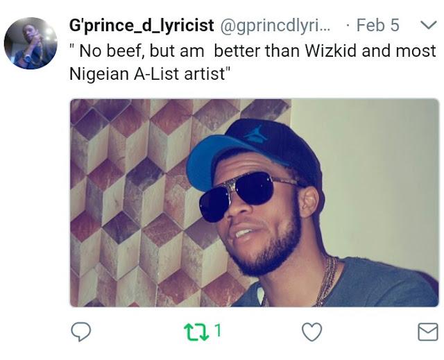 Gprince Twitter Screenshot