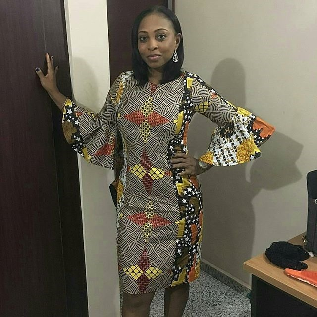 new short ankara gown styles (12)