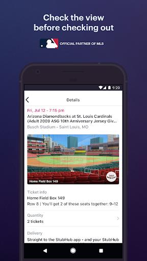 stubhub - live event tickets screenshot 3