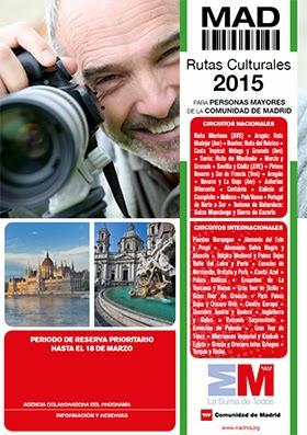 Récord de participación en Rutas Culturales para Mayores 2015