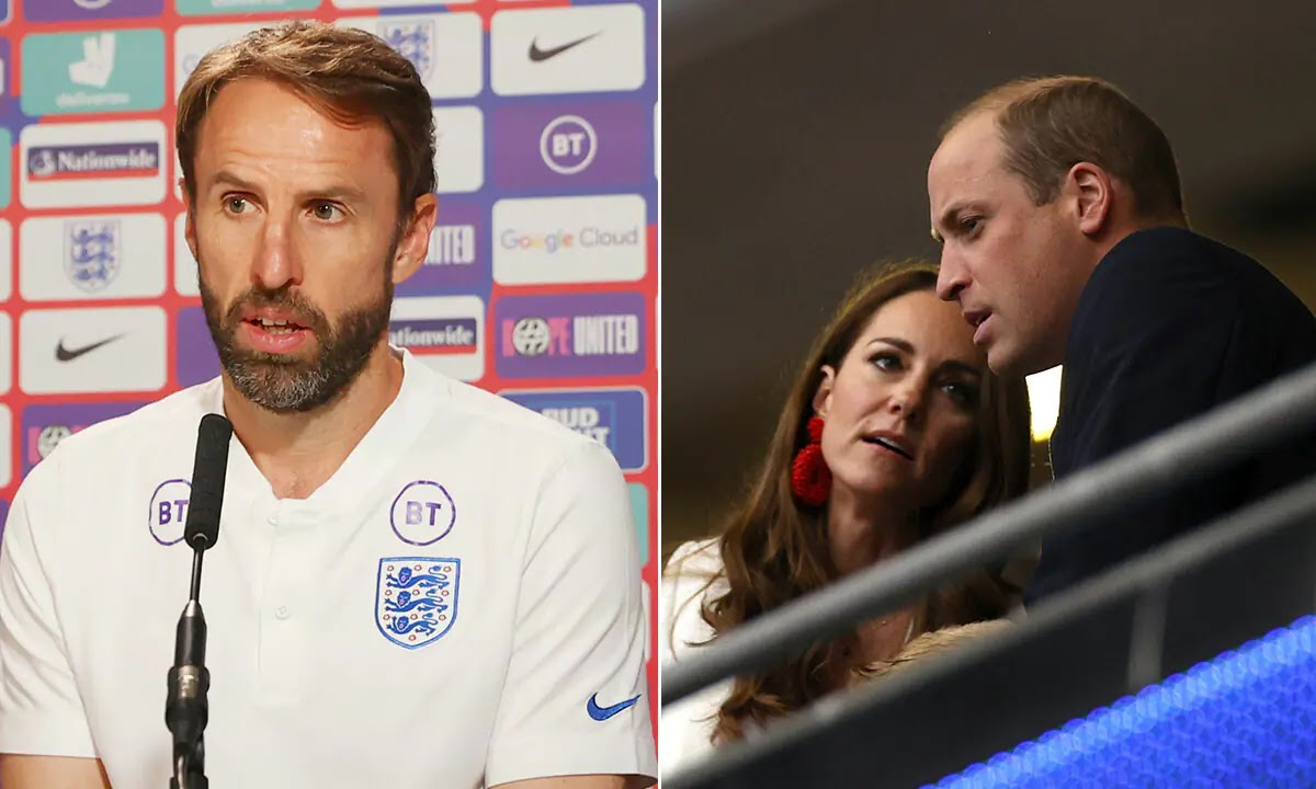 Prince William Consoled England Players After Euro 2020 Final, Gareth Southgate Reveals