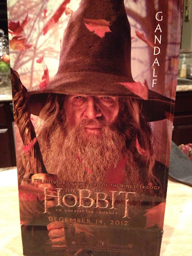 Our The Hobbit popcorn bag