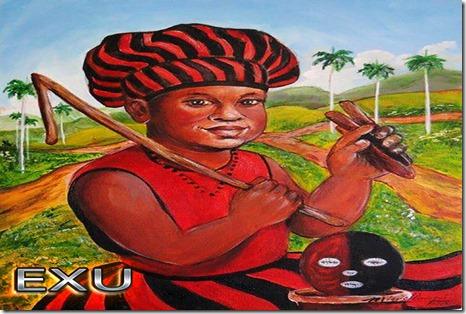 LAROIE - EXU - MOJUBA - ESHU - ORISA - CANDOMBLÉ - SANTERIA - NIGERIA