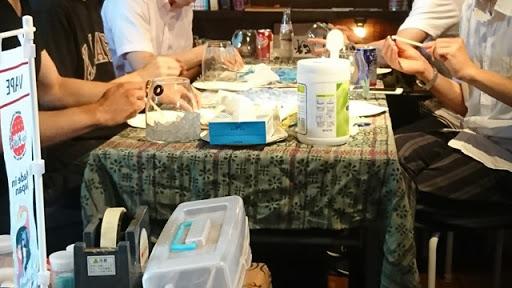 DSC 4869 thumb2 - 【シーシャ/イベント】シーシャやるならここに行け!?「シーシャBAR 煙-en-」愛知県岡崎市でシーシャグラスのワークショップを体験してきた!&吸ってみたレポート【秘密基地/体験イベント/水タバコ】