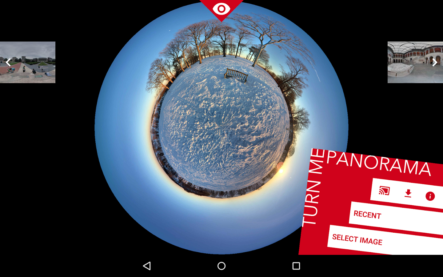 TurnMe Panorama - screenshot