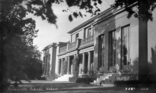 St Michael's Collegiate School, about 1940 (AOT, PH30/1/4642)