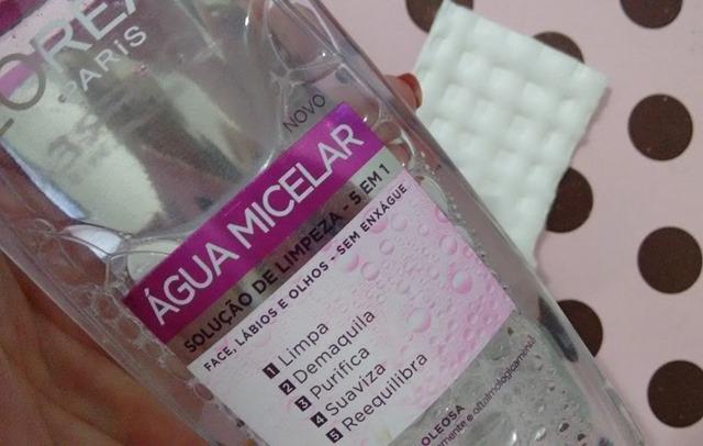 agua micelar