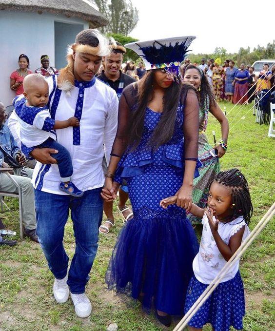 African Shweshwe Wedding Dresses For Ladies 2