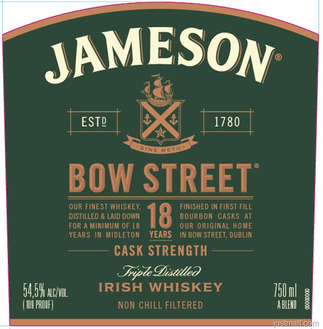 Jameson Bow Street 18-Year