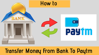 add money from bank to paytm
