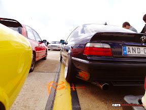 BMW E36 with lots of camber