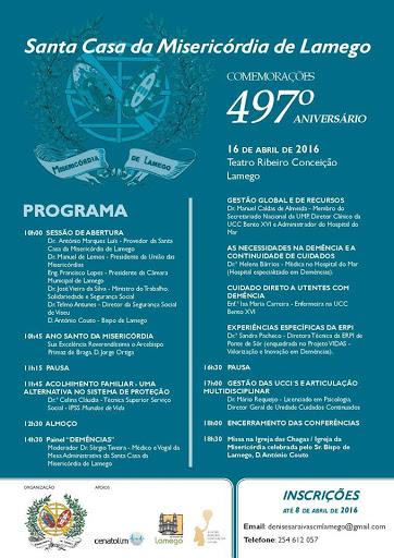 Ministro do Trabalho e Arcebispo de Braga participam no aniversário da Misericórdia de Lamego