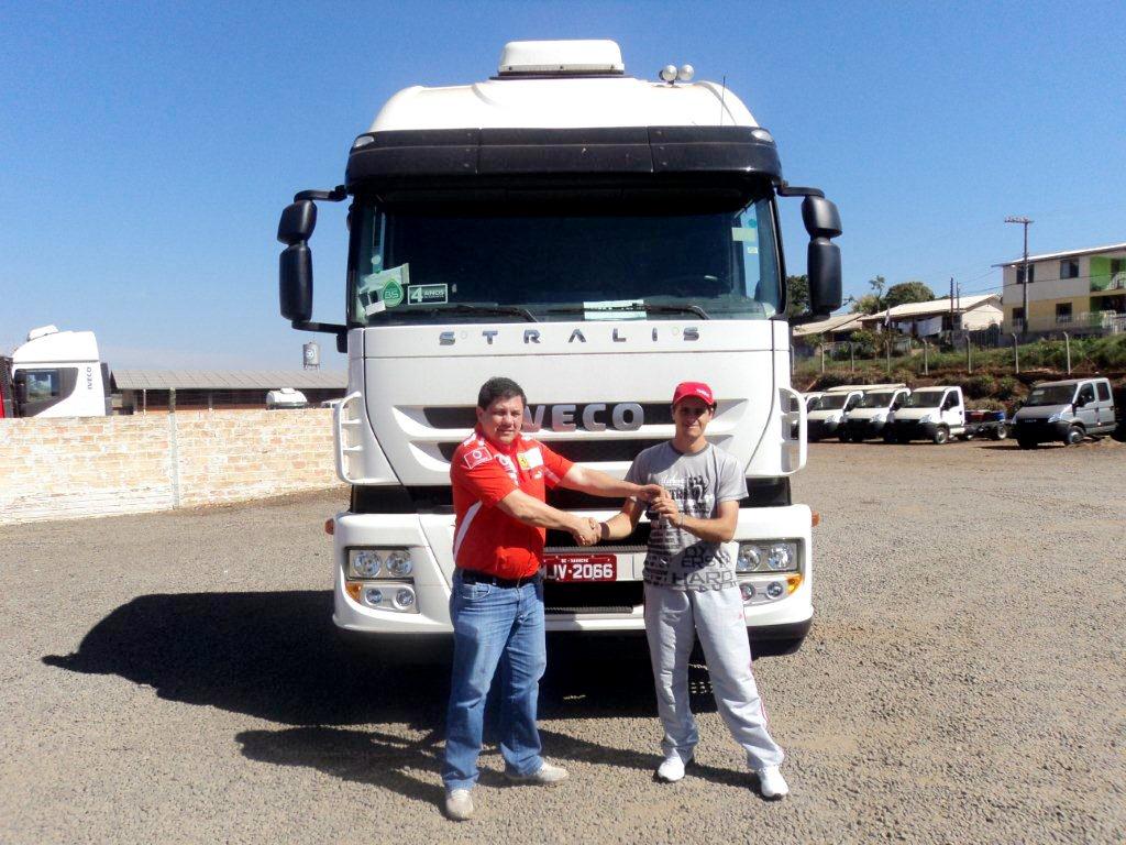 Transportadora de grãos recebe o sexto Iveco de sua frota DSC01796