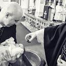 Fotografia okolicznościowa chrztu św. Amelii