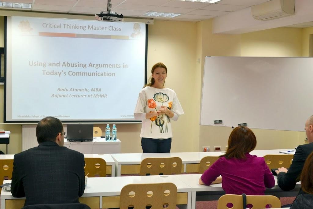 Critical Thinking, Master Class with Radu Atanasiu 007