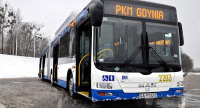 Flota przegubowych autobusów CNG w PKM Gdynia powiększy się z 14 do 16 sztuk!