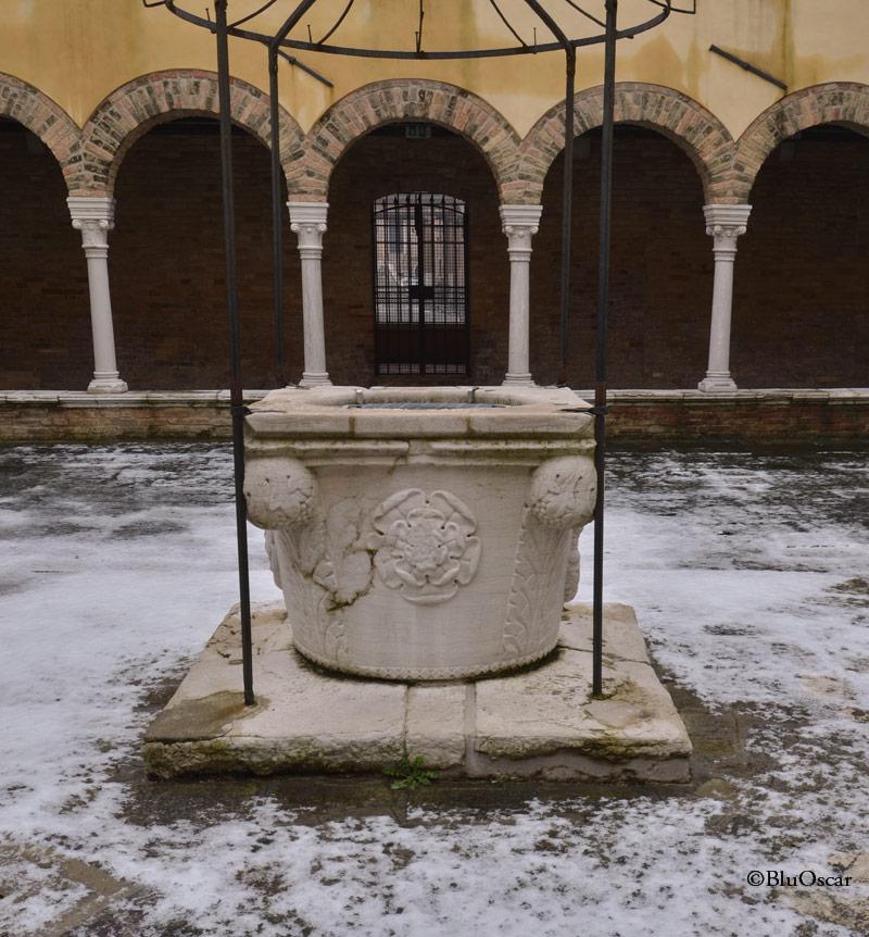 Chiostro Chiesa S Francesco della Vigna N7 18 01 2017