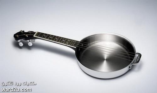 ادوات موسيقية بشكل جديد